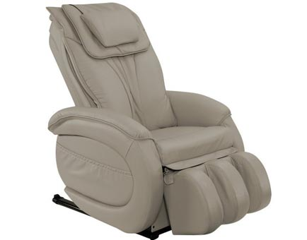 Infinity IT-9800 Zero-Gravity Leather Massage Chair - Taupe
