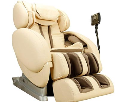Infinity IT-8500 Zero-Gravity Massage Chair - Ivory